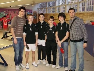 El P.I.J de Salou acull la 1ª Fase Comarcal de Tennis Taula per equips en categoria Infantil