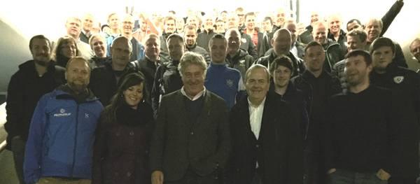 El Patronat de Turisme de Salou es promociona davant gairebé 90 entrenadors de diferents clubs de futbol europeus