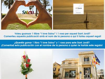 El Patronat de Turisme de Salou fomenta la participació de la ciutadania amb un sorteig per celebrar la Diada de Sant Jordi