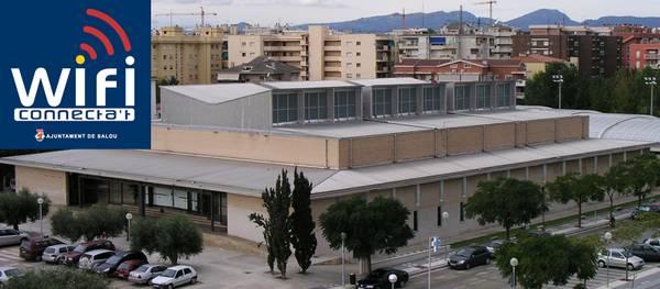 El Pavelló d'esports Salou Centre, amb Wifi públic i gratuït