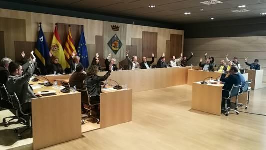 El ple de l'Ajuntament aprova la congelació de les ordenances fiscals pel 2019