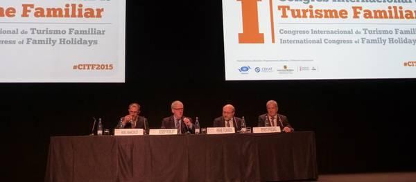 El primer Congrés de Turisme Familiar s'inaugura amb la vista posada en l'excel·lència, la sostenibilitat i la competitivitat