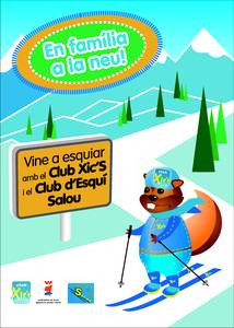 Els més petits se'n van d'esquiada amb el Club Xic's