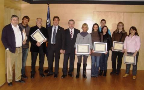 Es lliuren els premis de la XXV edició del Concurs d'Aparadors de Nadal de Salou