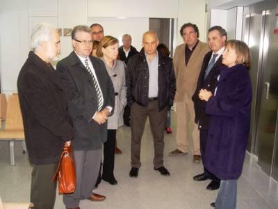 Es visiten les obres del futur centre d'atenció sanitària de Salou