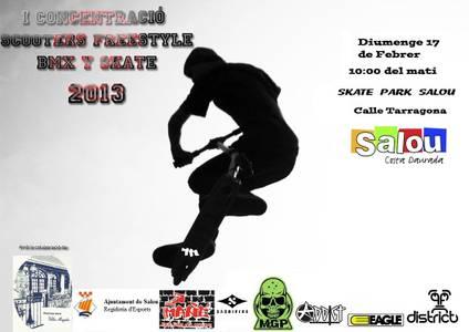 Esports organitza la primera concentració de Scooters Freestyle BMX i Skate a l'skate park Salou