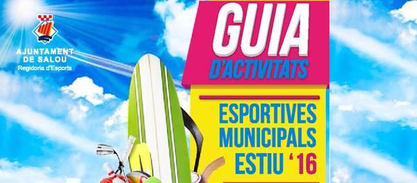 Esports presenta la guia d'activitats Esportives Municipals durant l'estiu