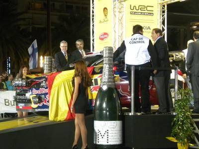 Èxit total d'assistents a la cerimònia d'inauguració de la 47 edició del RallyRACC Catalunya Costa Daurada