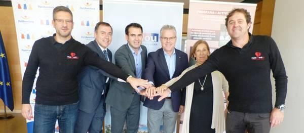 Fundació PortAventura i l'Associació «Pàdel amb Tu» inicien un projecte socio-educatiu al municipi de Salou