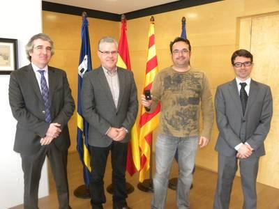 Homenatge a Quico Roman pels 25 anys treballant per l'Administració pública