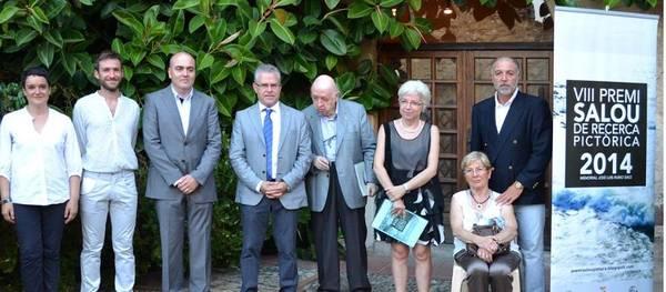 Inaugurada l'exposició del Premi Salou de Recerca Pictòrica Memorial José Luís Rubio a la Torre Vella