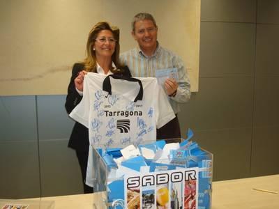 Josep Segura, Isabel Molina i Laura Rey guanyen els obsequis del sorteig de Sabor Salou 2012