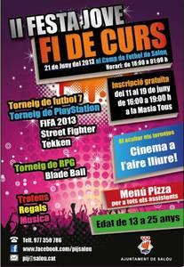 Joventut organitza la segona edició de la Festa Jove