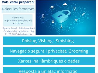 Joventut Salou ofereix al jovent un curs gratuït online sobre ciberseguretat