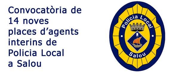 L'Ajuntament de Salou obre la convocatòria d'agents interins per cobrir 14 places de Policia Local