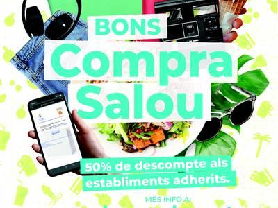 L'Ajuntament de Salou reprèn la campanya 'Bons Compra Salou', amb nous descomptes per a compres als comerços del municipi
