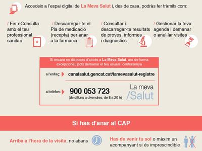 L'Ajuntament recorda que és imprescindible demanar cita prèvia per anar al Centre d'Alta Resolució (CAR) de Salou