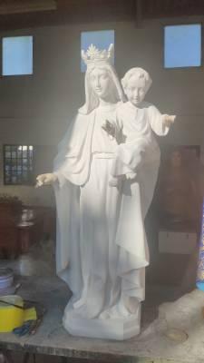 L'Ajuntament renova la imatge de la Mare de Déu de Salou que roman a l'Església de Santa Maria del Mar