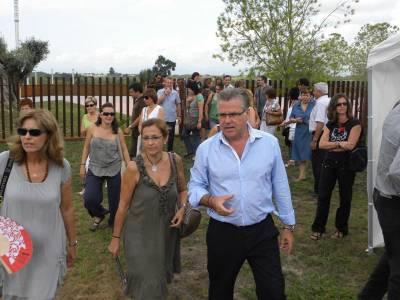 L'alcalde de Salou dóna la benvinguda als professors abans de l'inici de curs