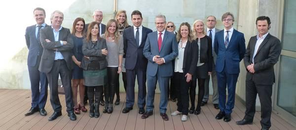 L'alcalde de Salou rep la junta del Col·legi d'Advocats de Tarragona