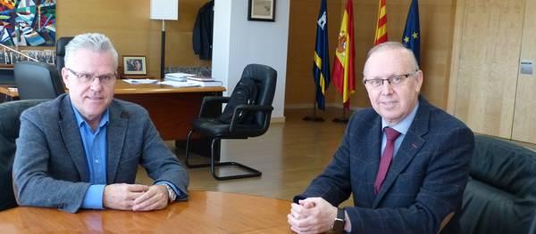 L'alcalde de Salou s'entrevista amb el president de la Cambra de Comerç de Reus en el marc dels contactes de suport al Centre Turístic Integrat