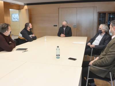 L'alcalde Pere Granados es reuneix amb el responsable de l'Associació de Veïns de Cap Salou, per recollir les seves propostes de millora de la ciutat
