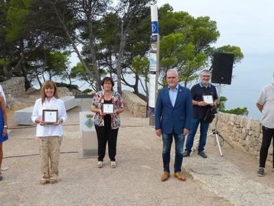 L'alcalde Pere Granados rep el professorat de Salou al Mirador de la Punta Prima, per donar la benvinguda al nou curs escolar 2021-2022