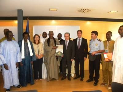 L'alcalde rep el cap de la diplomàcia religiosa senegalesa