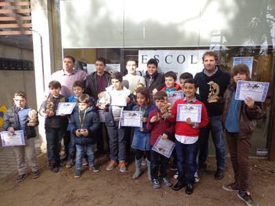 L'Escola d'Escacs de Salou celebra la tercera olimpíada escolar