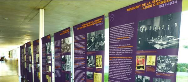 L'exposició Lluís Companys, polític fins a la mort arriba al TAS
