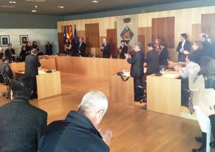 La Corporació Municipal de Salou celebra un ple extraordinari en la memòria del primer alcalde del municipi, Esteve Ferran i Ribera