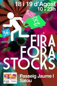 La fira Fora Stocks torna aquest cap de setmana al passeig Jaume I