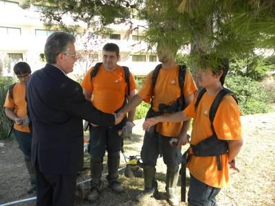 La Fundació Onada realitza un projecte per recuperar espais verds de la ciutat