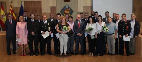 La Policia Local de Salou celebra la seva patrona amb un sentit reconeixement cap a l'agent Alberto Macías, mort en acte de servei