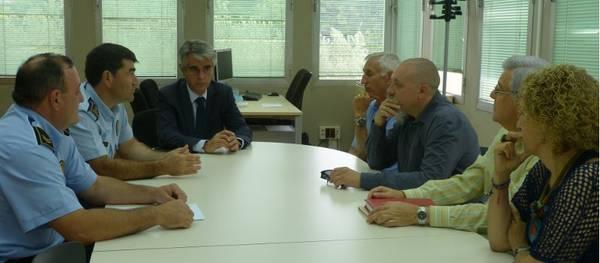 La Policia Local de Salou formalitza la col·laboració amb el Col·legi d'Administradors de Finques de Tarragona