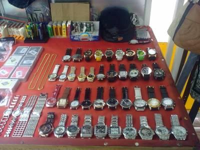 La Policia Local de Salou incauta gènere presumptament falsificat per un valor de 220.800 euros