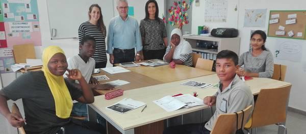 La regidoria d'Ensenyament implanta un projecte per promoure competències lingüístiques entre els alumnes nouvinguts a Salou