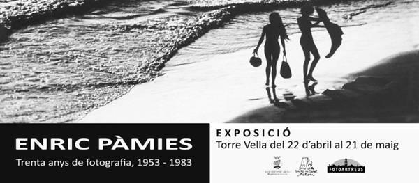 La Torre Vella acull una mostra homenatge de 30 anys de fotografia d'Enric Pàmies