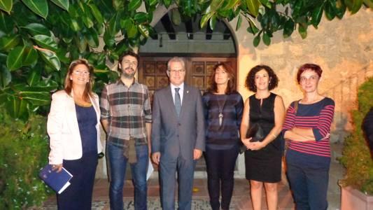 La Torre Vella celebra amb una gran festa cultural el lliurament del setè Premi Salou de Recerca Pictòrica