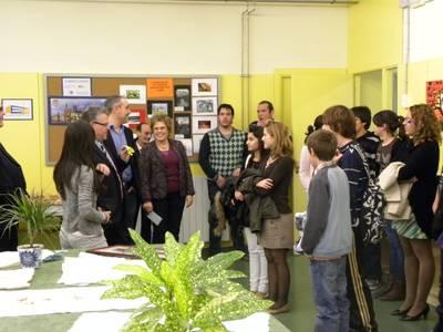 L'alcalde de Salou inaugura les terceres jornades culturals de l'IES Marta Mata