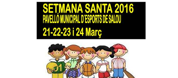 L'àrea d'esports de l'Ajuntament organitza activitats infantils durant la Setmana Santa