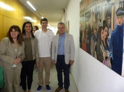 Pedro Colom protagonista de la vuitena mostra d'artistes pròxims de l'Institut Jaume I