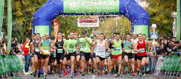 Pedro Ortega i Estefania Guinovart guanyen la freshwave® Mitja Marató de Salou