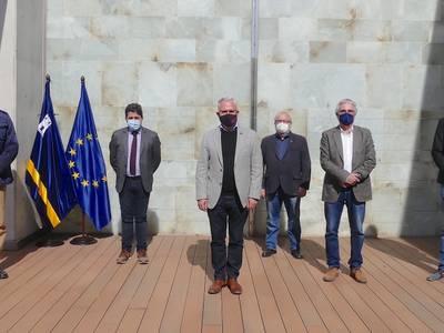 Reunió amb el Col·lectiu Schuman per tal de defensar l'europeisme a Catalunya, des del món local