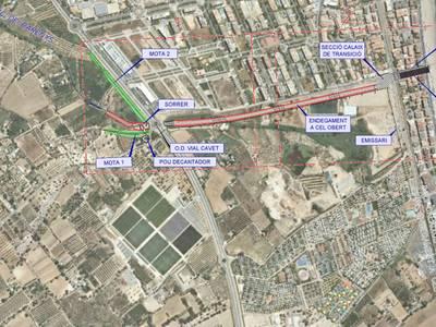S'inicien els processos d'expropiació per a l'execució de les obres del barranc de Barenys i les de la nova estació de tren de Salou