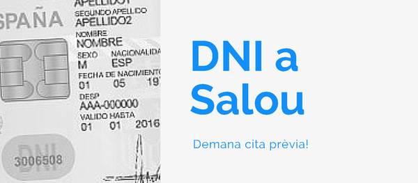S'obre el termini per sol·licitar la renovació del DNI a l'Ajuntament de Salou