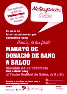 Salou, a punt per a la novena edició de la Marató de Donació de Sang