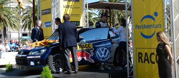 Salou acull la Cerimònia de Sortida inicial del RallyRACC Catalunya Costa Daurada