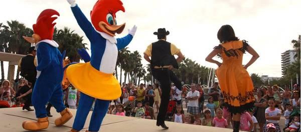 Salou acull nous espectacles infantils per potenciar la marca de Destinació en Turisme Familiar