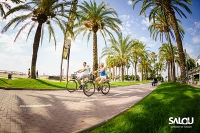 Salou ampliarà el carril bici i les connexions que l'enllacen en diversos sectors del municipi